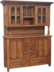 Tuscana Buffet With Hutch Product Image