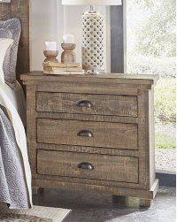 Nightstand - Weathered Gray Finish Product Image