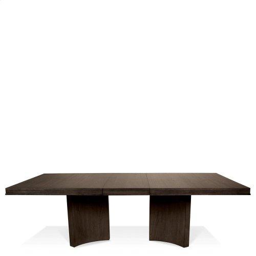 Precision - Table Pedestal - Umber Finish