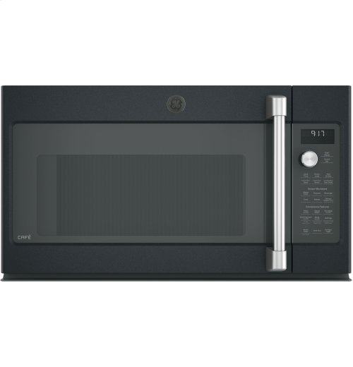 GE Cafe™ Series 1.7 Cu. Ft. Convection Over-the-Range Microwave Oven [CLEARANCE]