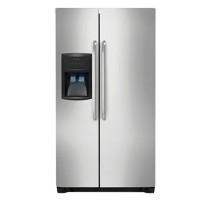 22.1 Cu. Ft. Side-by-Side Refrigerator - STAINLESS STEEL