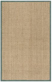 Natural Fiber Power Loomed Large Rectangle Rug