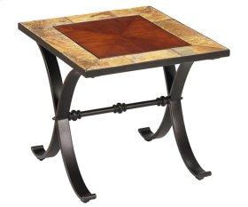 King's Cross Rectangular End Table