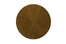 """Mozambique Veneer Dining Table Top 48"""""""