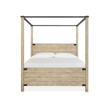 Complete Queen Poster Bed