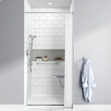 Townsend 38x38-inch Solid Surface Shower Base  American Standard - Soft White