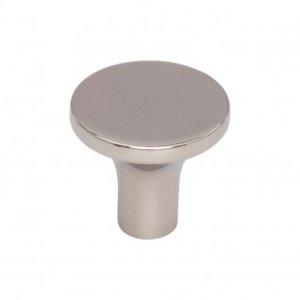 Marion Knob 1 1/8 Inch - Polished Nickel