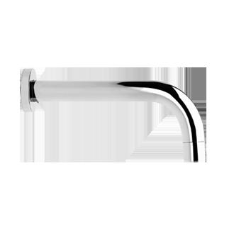 "Wall mounted bath spout, 1/2"" connections - Spout projection 9-3/16"""