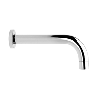 "Wall mounted bath spout, 1/2"" connections - Spout projection 9-3/16"""