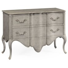 Peble Grey - French Provincial Style Chest of Drawers