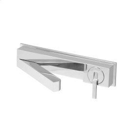 2600 Wall Faucet with Articulating Spout