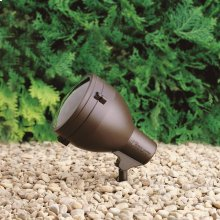 120V Large Accent Textured Architectural Bronze