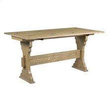 Hidden Treasures Trestle Flip Top Table