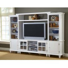 Grand Bay Large Entertainment Center White