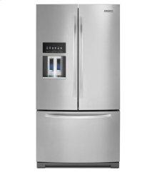 27 Cu. Ft. Platinum Interior, Standard-Depth French Door Refrigerator, Architect® Series II - Monochromatic Stainless Steel