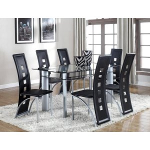 Echo Dining Table Glass Top