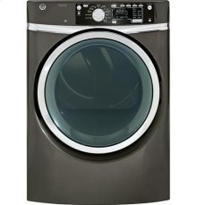 GE® 8.1 cu. ft. capacity Front Load electric dryer with steam