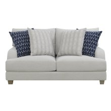 Emerald Home U4389-01-03 Laney Loveseat, Harbor Gray