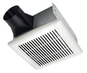 InVent Series 50 CFM 0.5 Sones Finish Pack with White Grille; ENERGY STAR® certified product