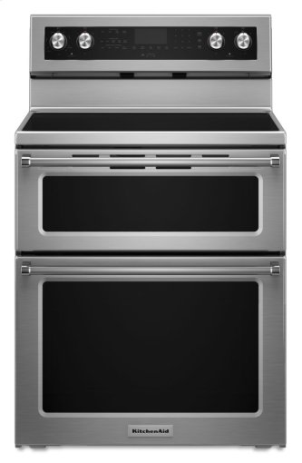 30-Inch 5 elements Electric Double Oven Convection Range - Stainless Steel
