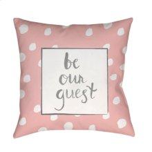 "Be Our Guest QTE-001 20"" x 20"""