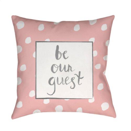 "Be Our Guest QTE-001 18"" x 18"""