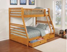 Bunk Bed w/storage Mattresses Included