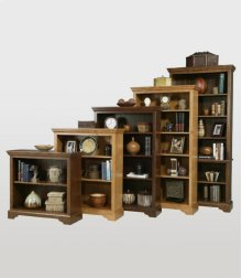 "36""W Open Bookcases"