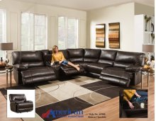 AF800 - Roman Chocolate 6Pc. Sectional