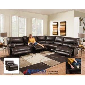 American Furniture ManufacturingAF800 - Roman Chocolate Sectional