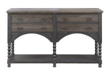 Emerald Home Wallingford Server Dark Pine D750-50