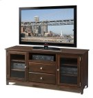 62 Inch Alder TV Console Product Image