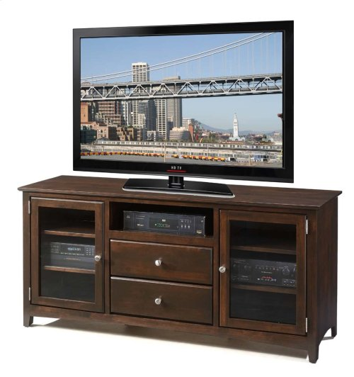 62 Inch Alder TV Console