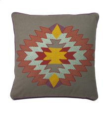 Indian Summer Grey Pillow