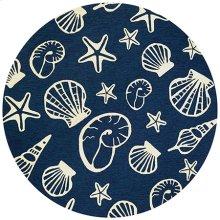 Cardita Shells - Navy-Ivory 7334/0313