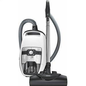 MieleBlizzard CX1 Cat & Dog PowerLine - SKCE0 Bagless canister vacuum cleaners with electrobrush for thorough cleaning of heavy-duty carpeting.