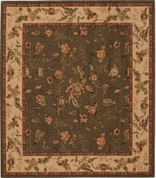 Hard To Find Sizes Grand Parterre Va01 Olive Rectangle Rug 6' X 7'