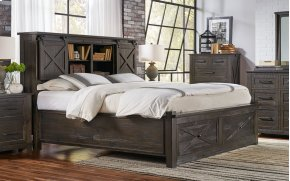 CK STORAGE BED & FOOTBOARD BENCH