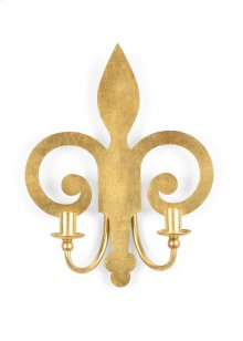 Shield Sconce - Gold