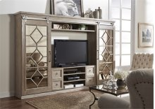 874-EL  Entertainment Center with Piers