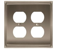 Mulholland 2 Receptacle Wall Plate