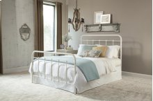 Kith White Metal Twin Bed