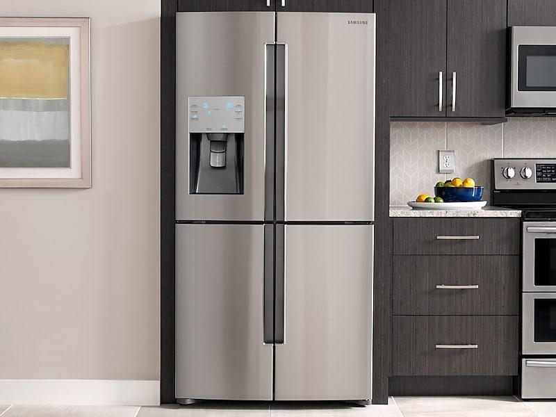 Charmant Samsung Appliances 23 Cu. Ft. Counter Depth 4 Door Flex Refrigerator With  Flexzone