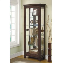 Accent Curio Cabinet Brown