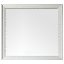 """Bristol 44"""" Rectangular Mirror, Cottage White"""