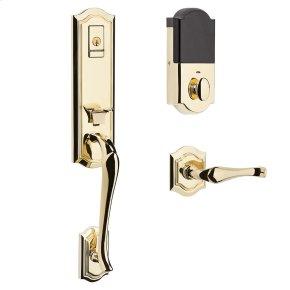 Lifetime Polished Brass Evolved Bethpage Lever Handleset