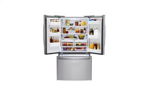 Ultra-Large Capacity 3 Door French Door Refrigerator with Smart Cooling