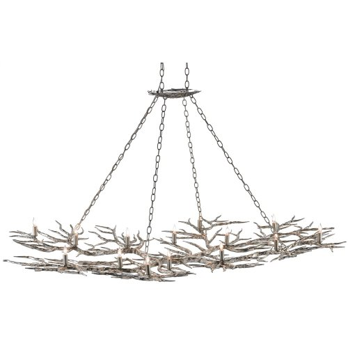 Rainforest Silver Chandelier