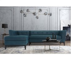 Jess Azure Textured Linen LAF Sectional Product Image