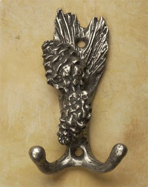 Double Pine Cone Hook Product Image